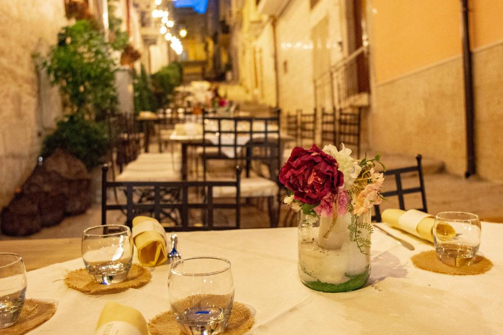 Tavolo per cena